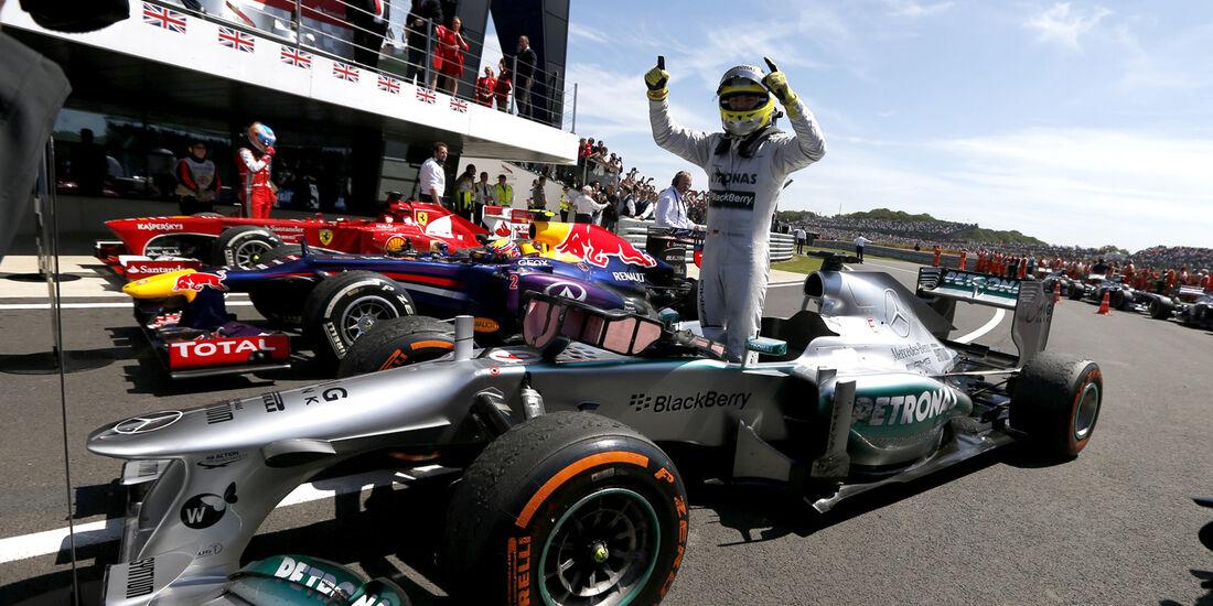 Nico Rosberg - Formel 1 - GP England 2013