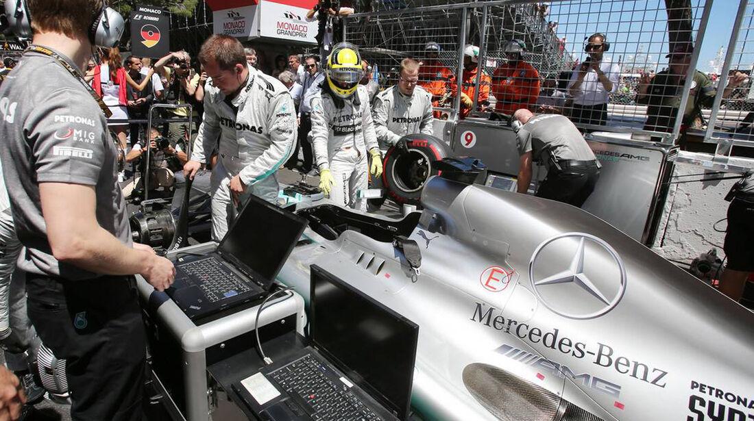 Nico Rosberg - Formel 1 - GP Monaco - 26. Mai 2013