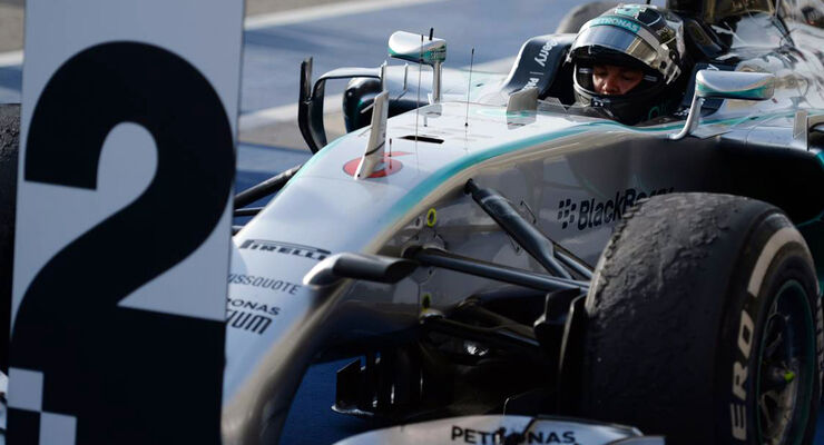 Nico Rosberg - Formel 1 - GP USA - 2. November 2014
