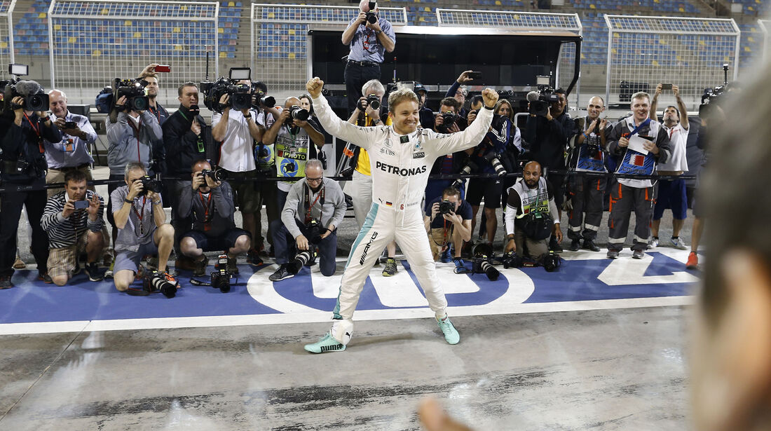 Nico Rosberg - GP Bahrain 2016