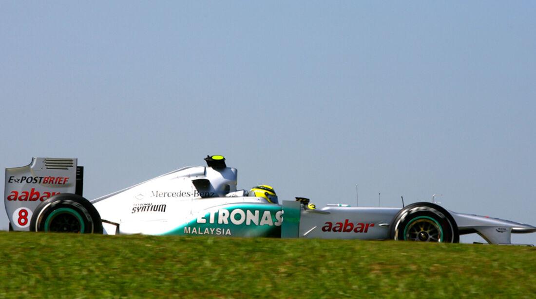 Nico Rosberg - GP Brasilien - 25. November 2011