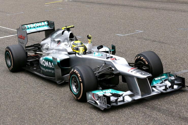 Nico Rosberg GP China 2012