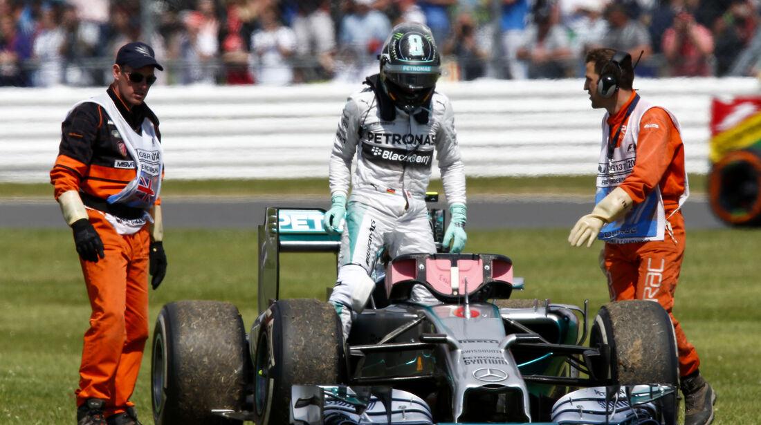 Nico Rosberg - GP England 2014