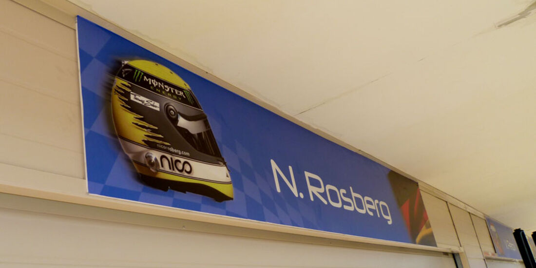 Nico Rosberg GP Europa 2011
