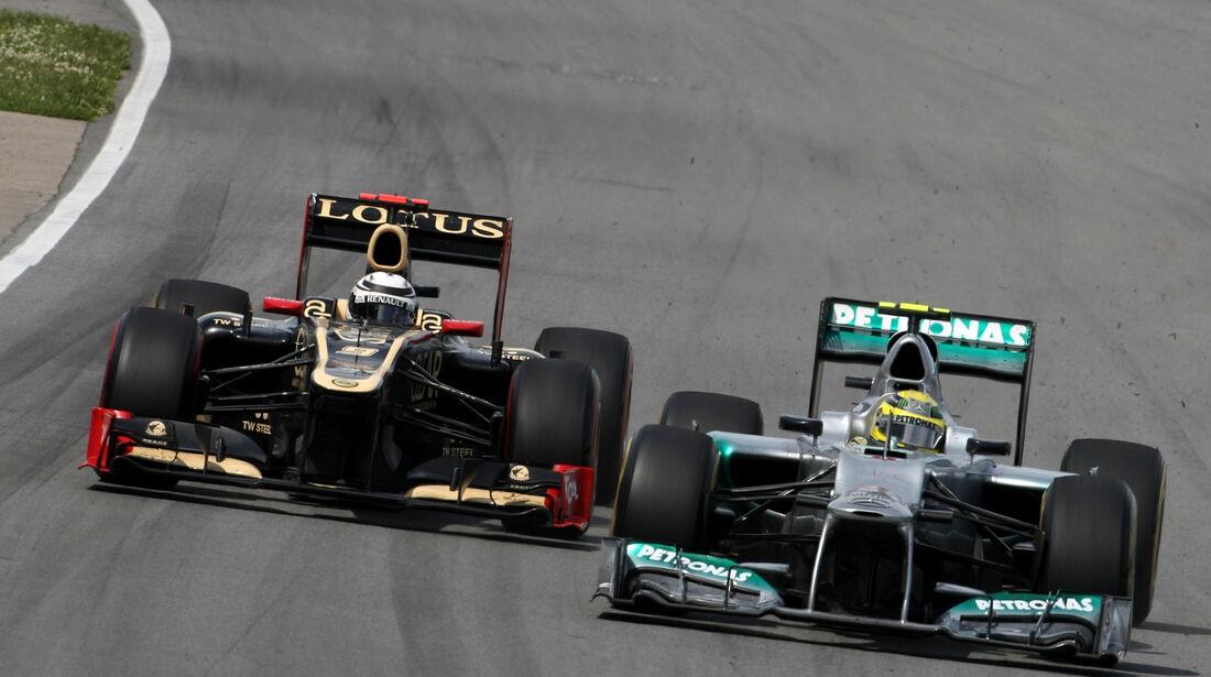 Nico Rosberg GP Kanada 2012