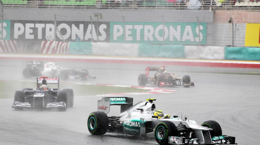 Nico Rosberg GP Malaysia 2012