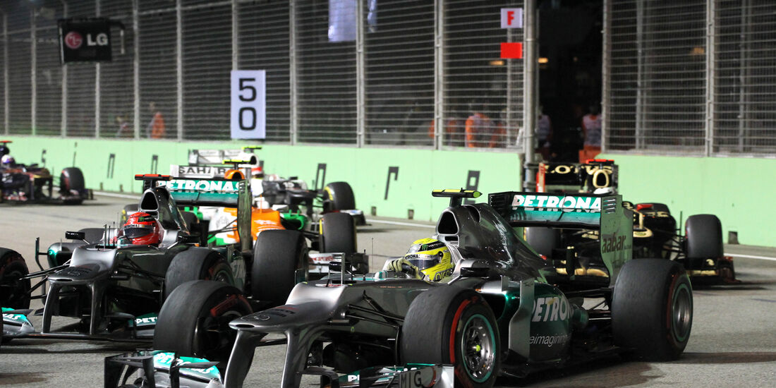 Nico Rosberg - GP Singapur 2012