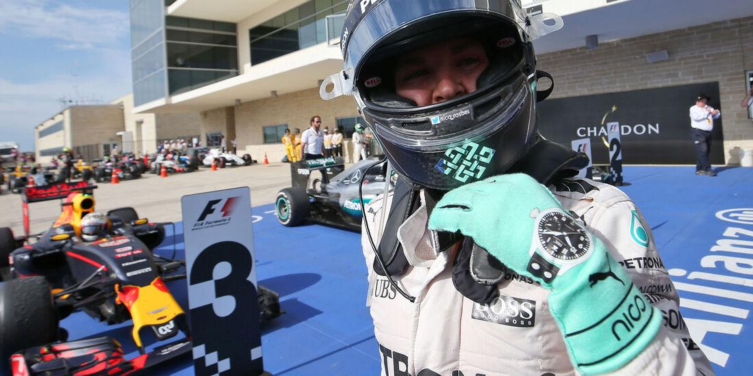 Nico Rosberg - GP USA 2016