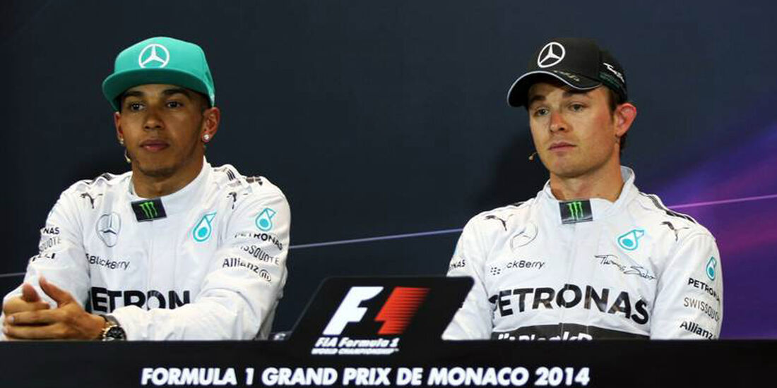 Nico Rosberg Lewis Hamilton GP Monaco 2014