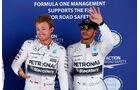 Nico Rosberg - Lewis Hamilton - Mercedes - GP Spanien - Qualifying - Samstag - 9.5.2015