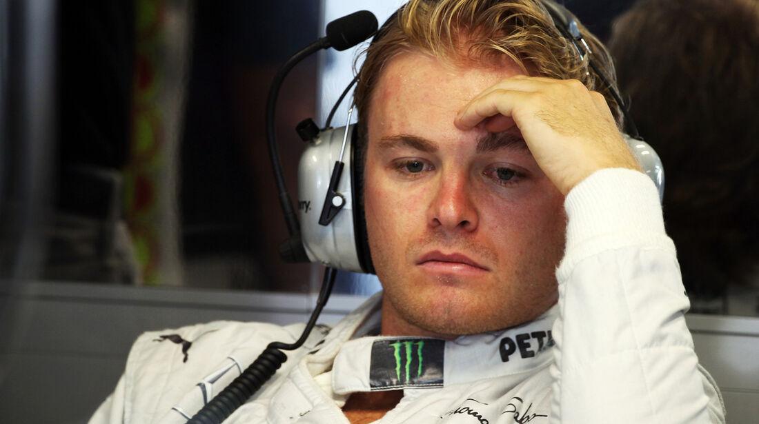 Nico Rosberg - Mercedes - Formel 1 - GP Italien - 7. September 2013