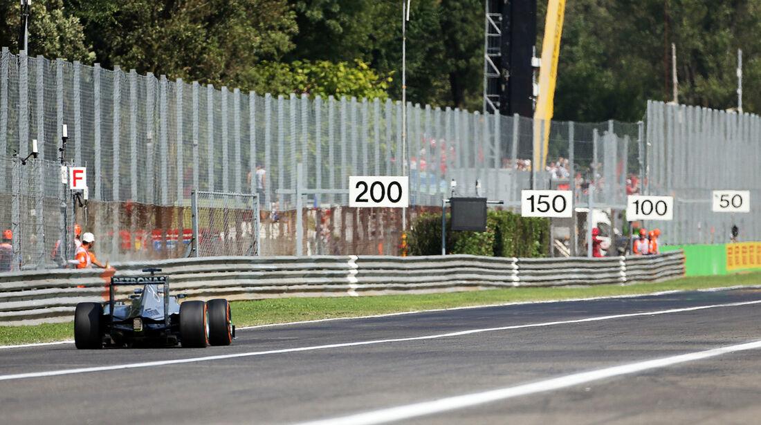 Nico Rosberg - Mercedes - Formel 1 - GP Italien - Monza - 6. September 2013