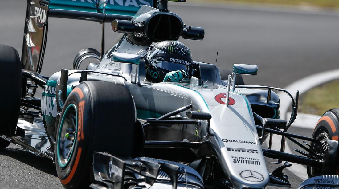 Nico Rosberg - Mercedes - Formel 1 - GP Malaysia - Freitag - 30.9.2016