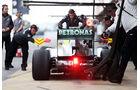 Nico Rosberg, Mercedes, Formel 1-Test, Barcelona, 19. Februar 2013