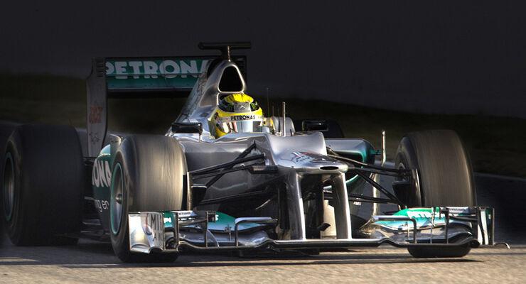 Nico Rosberg - Mercedes GP - Barcelona 2012