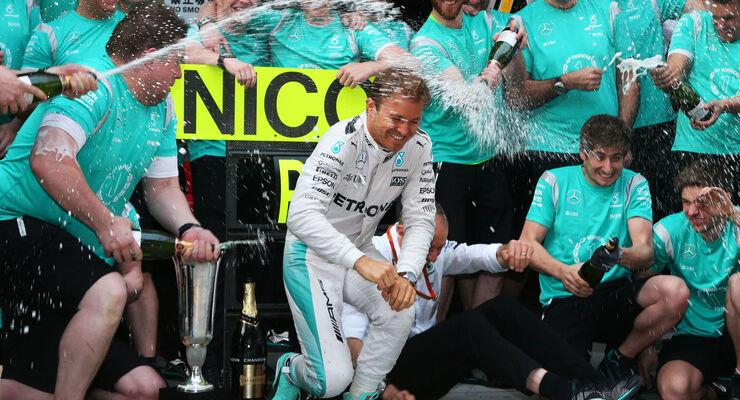 Nico Rosberg - Mercedes - GP China 2016