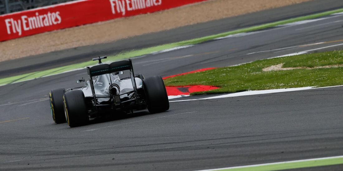 Nico Rosberg - Mercedes - GP England - Silverstone - Qualifying - Samstag - 9.7.2016
