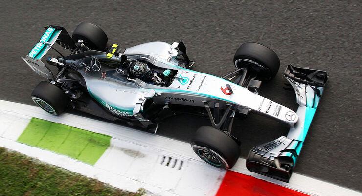 Nico Rosberg - Mercedes - GP Italien - Monza - Qualifying - 5.9.2015