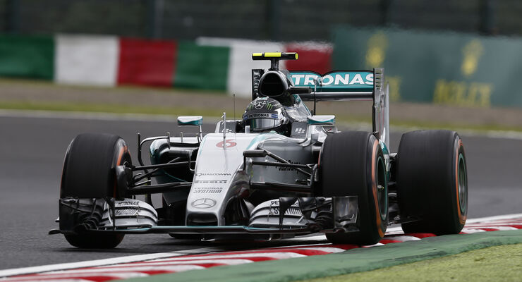 Nico Rosberg - Mercedes - GP Japan 2015