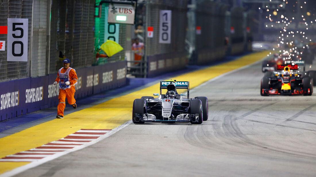 Nico Rosberg - Mercedes - GP Singapur 2016