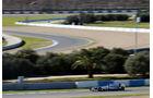 Nico Rosberg Mercedes Jerez 2013