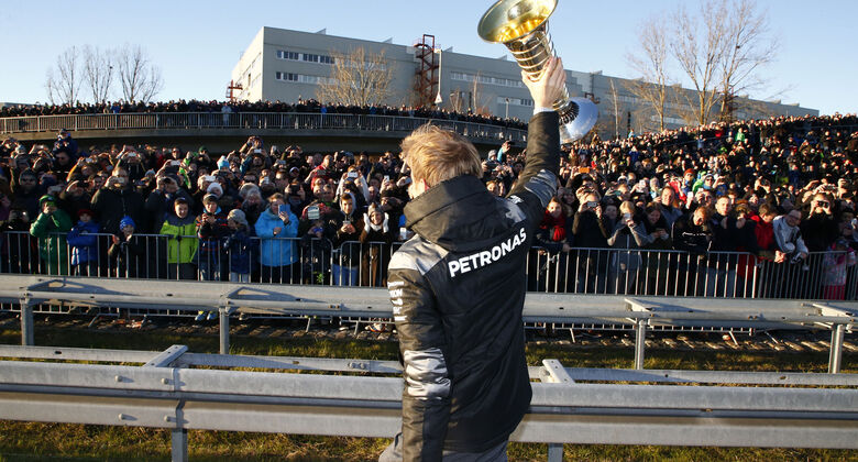 Nico Rosberg - Mercedes - Sindelfingen