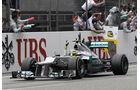 Nico Rosberg Mercedes W03 GP China 2012