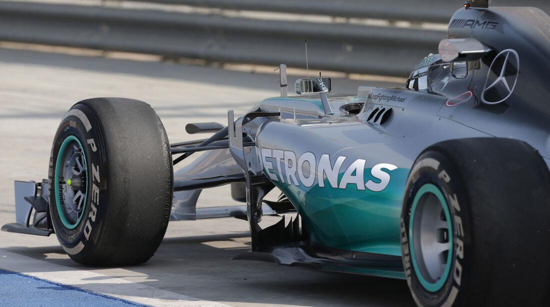 Nico Rosberg - Mercerdes - Formel 1 - Test - Bahrain - 27. Februar 2014