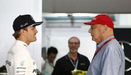 Nico Rosberg & Niki Lauda - F1 2016