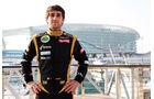 Nicolas Prost Lotus Young Driver Test Abu Dhabi 2012
