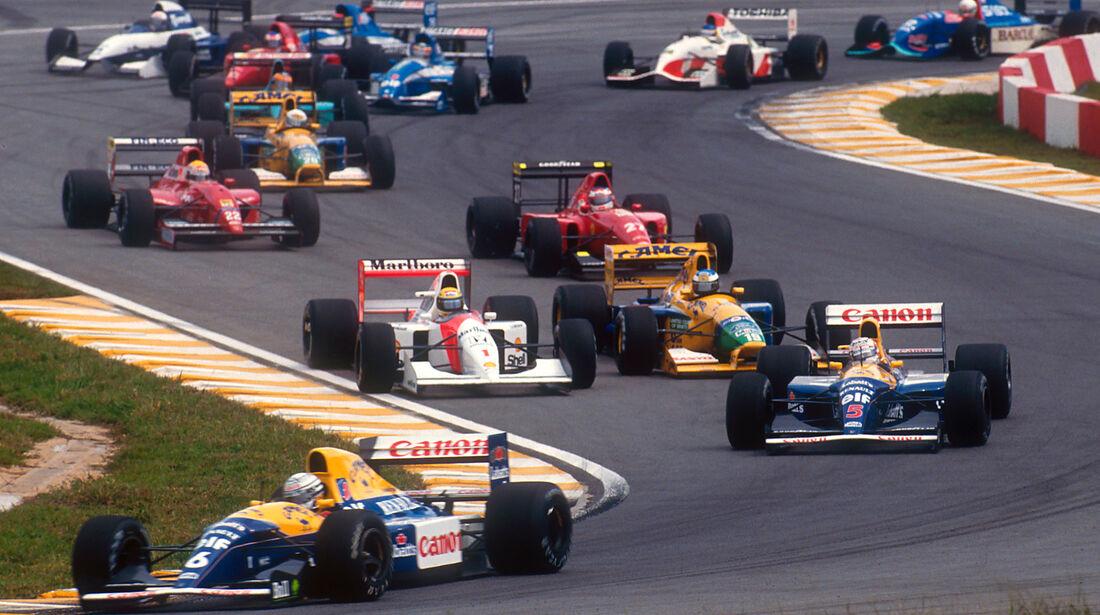 Nigel Mansell - GP Brasilien 1992