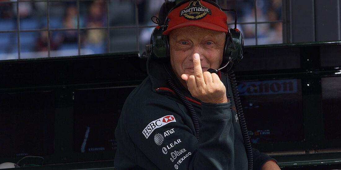 Niki Lauda 2001