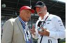 Niki Lauda & Dieter Zetsche - Formel 1 - GP Deutschland 2013