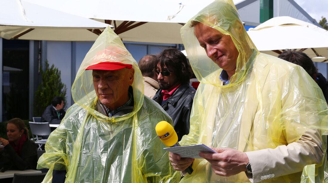 Niki Lauda & Florian König - GP Australien 2013