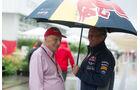 Niki Lauda & Helmut Marko - Formel 1 - GP USA - Austin - 23. Oktober 2015