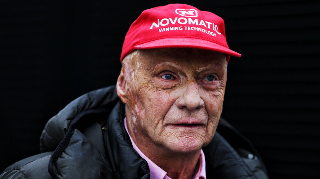 Niki Lauda - Mercedes - Barcelona F1-Test 2018 - Tag 1