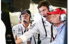 Niki Lauda - Toto Wolff - Dieter Zetsche - GP Spanien - Qualifying - Samstag - 9.5.2015