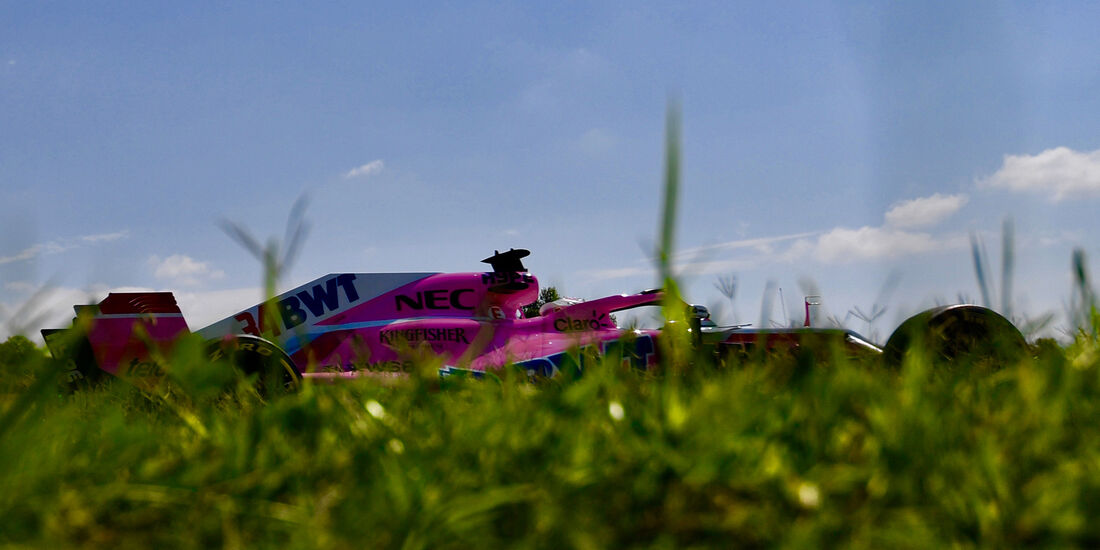 Nikita Mazepin - Force India - F1-Test - Budapest - 1. August 2018
