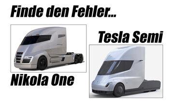 Nikola One Tesla Semi Design Kopie