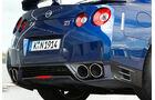Nissan GT-R, Auspuff, Detai