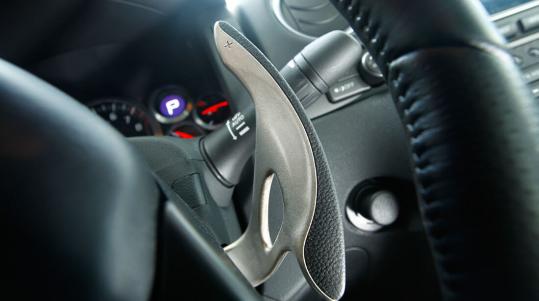 Nissan GT-R, Innenraum, Lenkrad, Detail