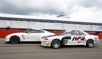 Nissan GT-R, Nissan Skyline GT-R BNR32, Seitenansicht