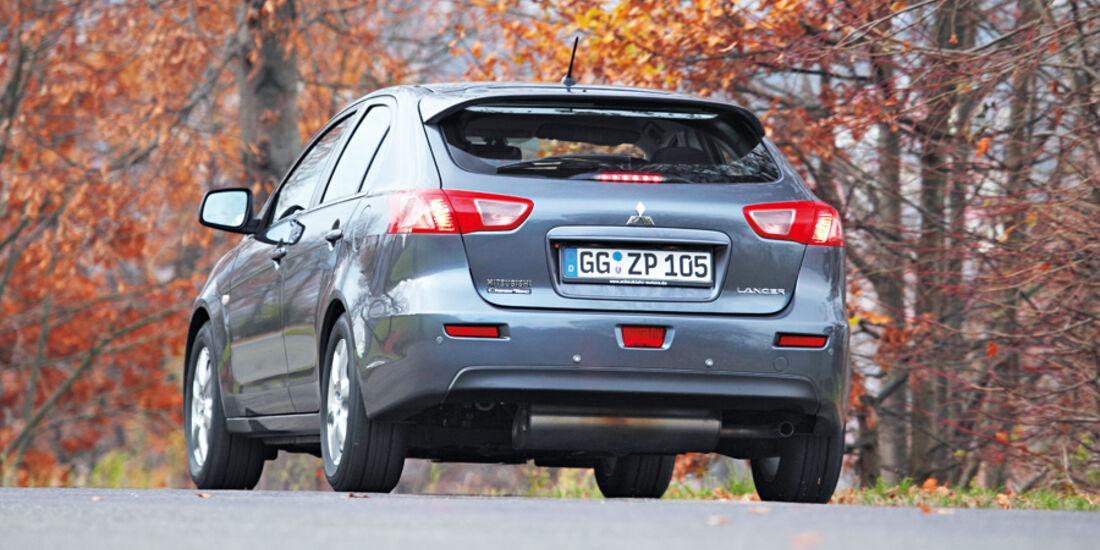 Nissan Lancer Sportback 1.6 XTRA, Heck