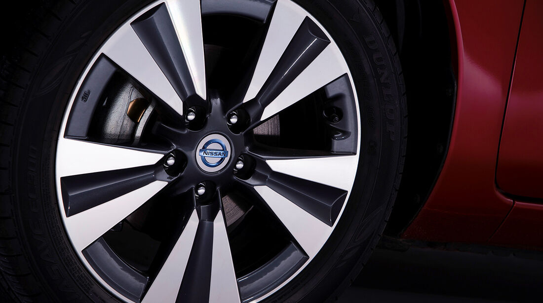 Nissan Leaf, Felgen