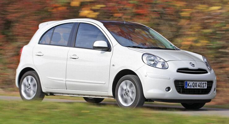Nissan Micra, Frontansicht