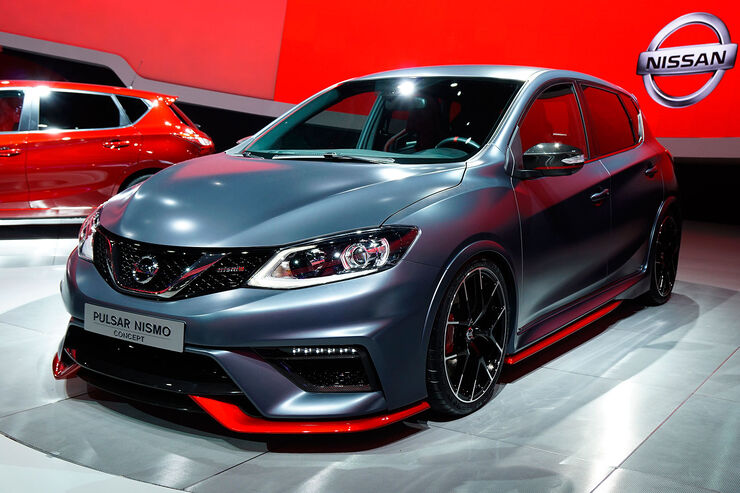 nissan pulsar nismo auf dem autosalon paris frontantriebs. Black Bedroom Furniture Sets. Home Design Ideas