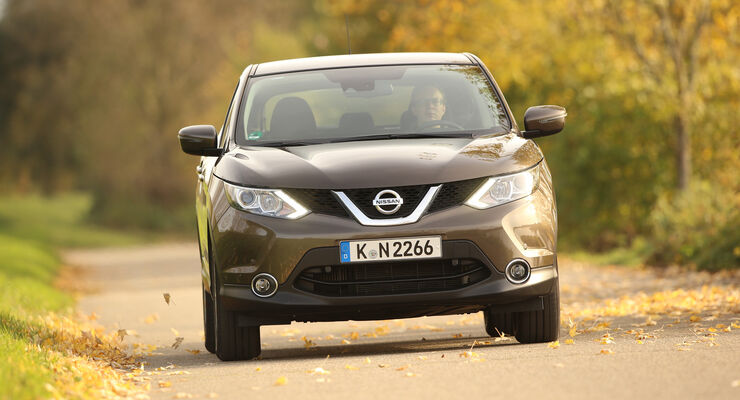 Nissan Qashqai 1.2 DIG-T, Frontansicht