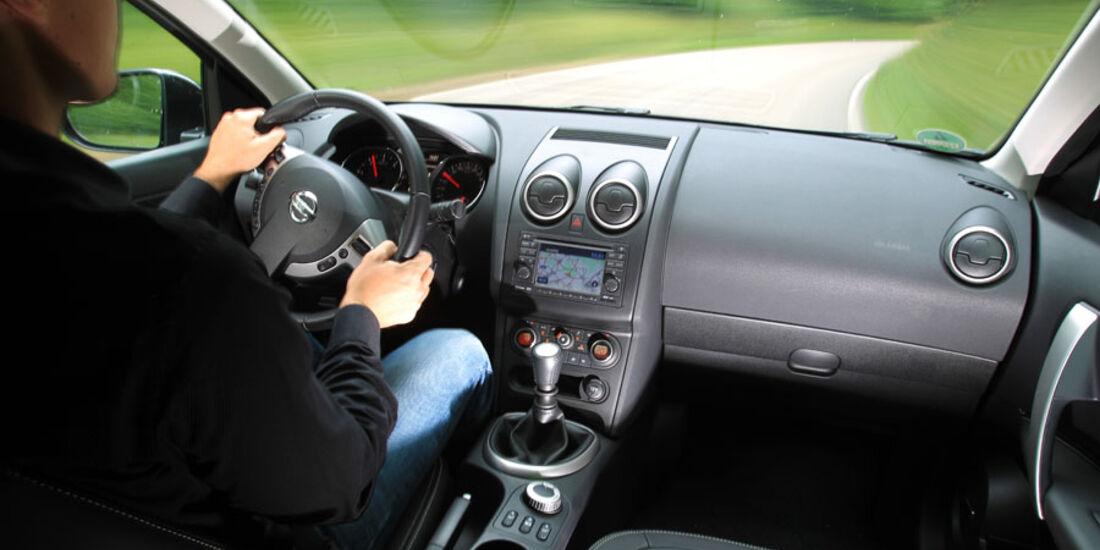 Nissan Qashqai, Cockpit, Innenraum