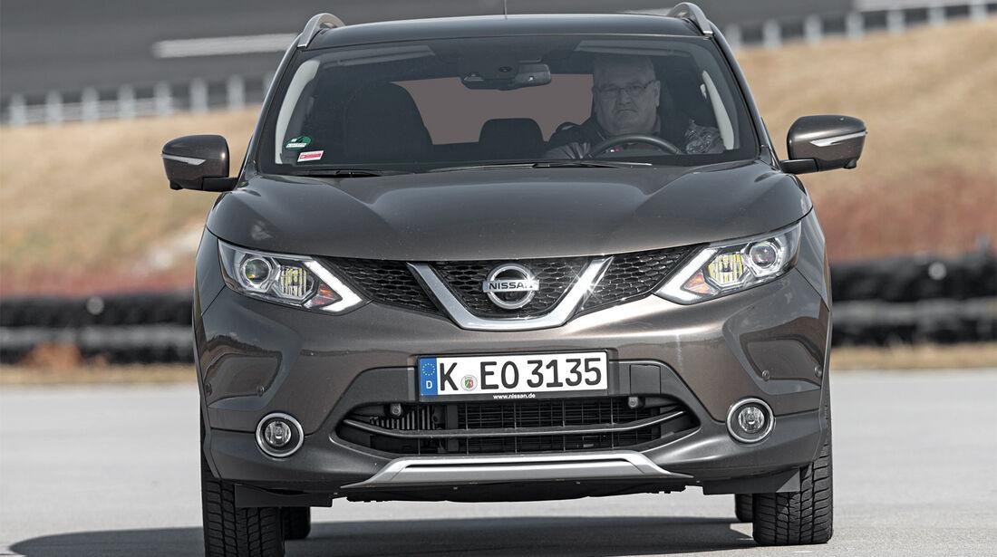 Nissan Qashqai, Frontansicht