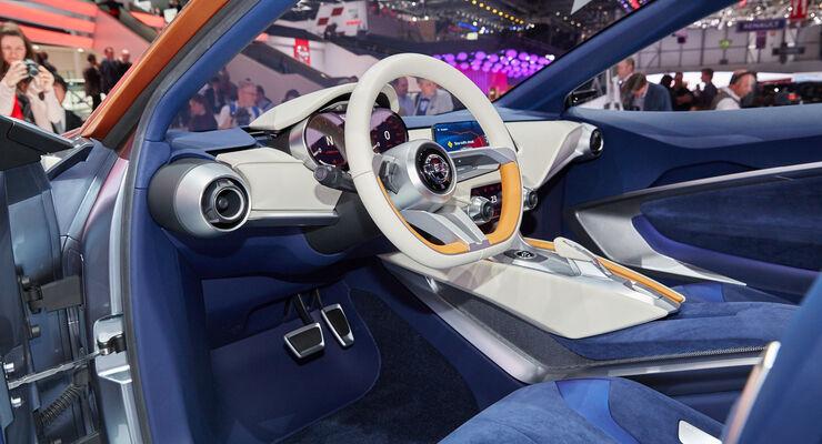 Nissan Sway Concept Micra Studie Genf